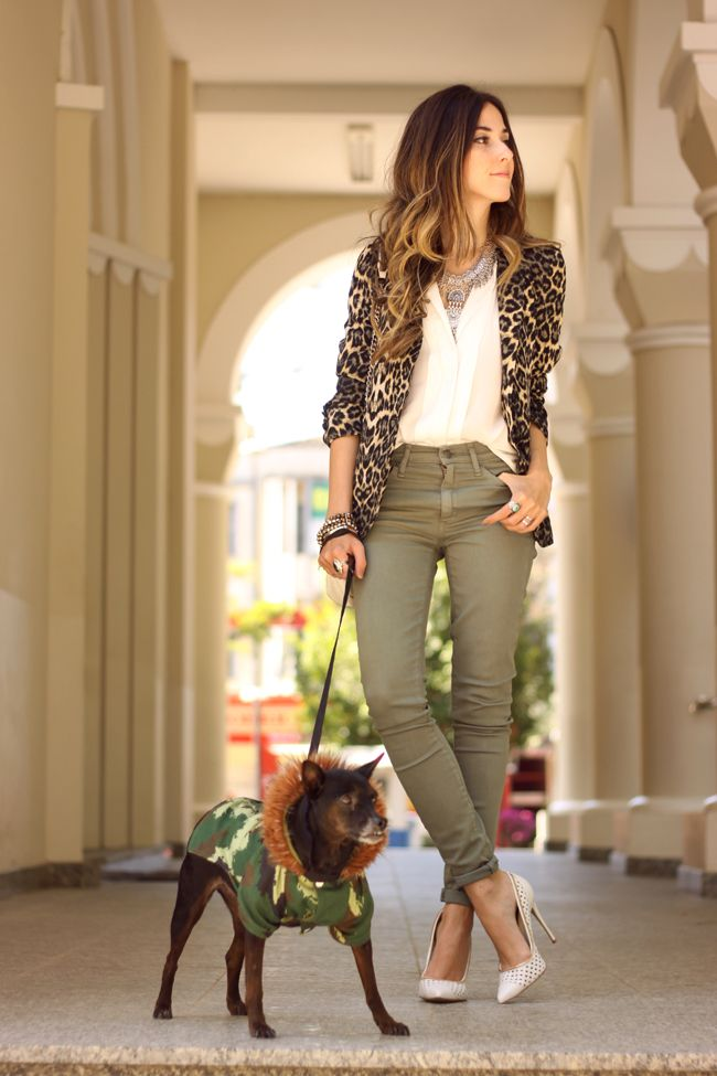 FashionCoolture - 14.09.2015 look du jour resolution denim Gap leopard blazer (7)