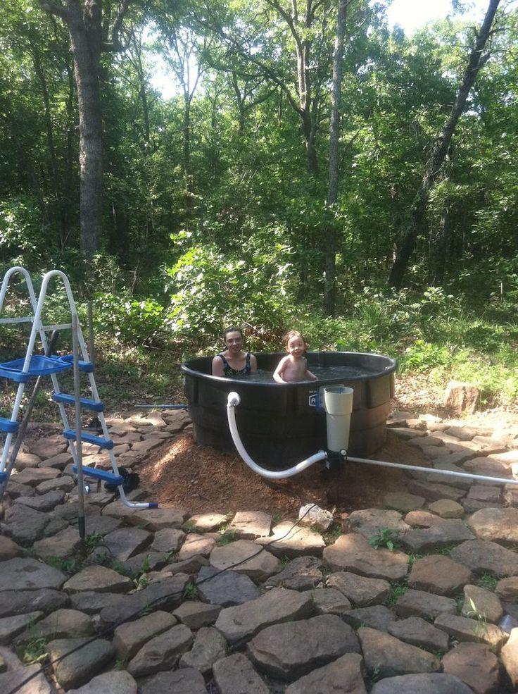 Redneck Outdoor Tub Style Summer And Rednecks