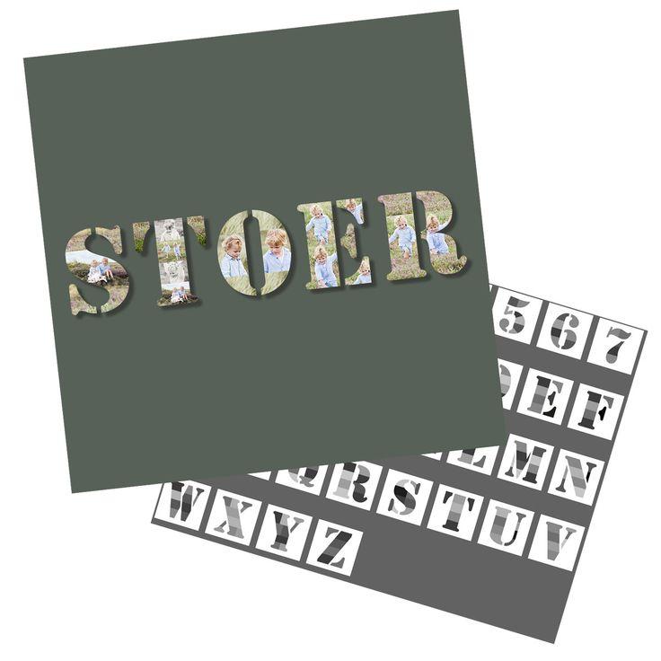 Alfabet Sjablonen 2