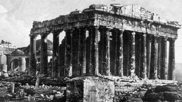 Ο Παρθενώνας δεν ήταν πάντα το υπέροχο μνημείο που γνωρίζουμε σήμερα (pics) | ΠΕΡΙΕΡΓΑ - STRANGE