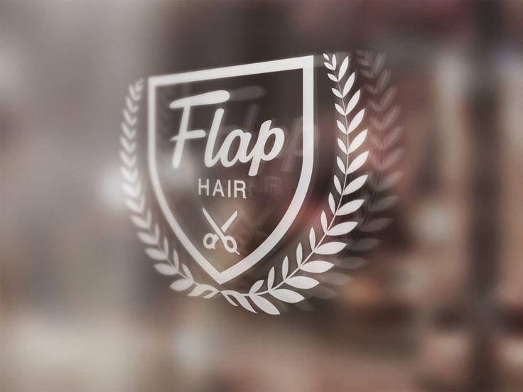 東京 沖縄 総合デザイン BRIDGE – 美容室 FLAP HAIR ロゴデザイン