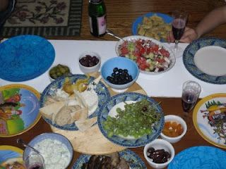 ANCIENT GREECE FINALE: Recipes for the Greek Feast