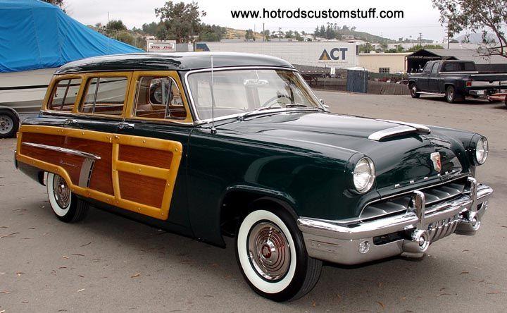 "1952 Mercury ""Custom Series"" Woodie Station Wagon"
