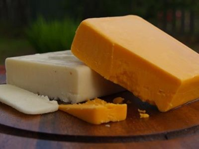 Homemade Cheddar Cheese Recipe