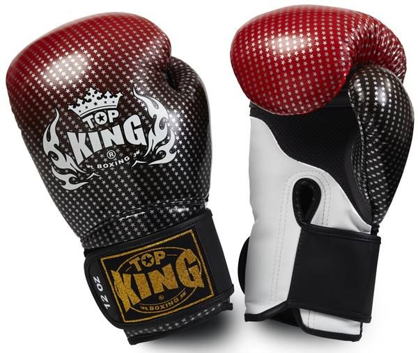 """Top King Red Boxing Gloves """"Super Competition"""" available from http://www.topking.eu"""