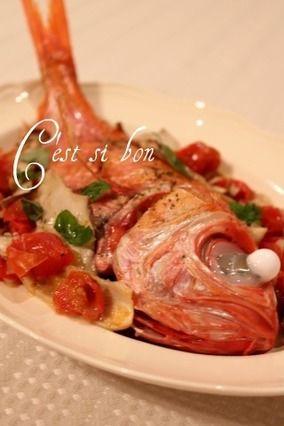 金目鯛のアクアパッツァ・お誕生日ディナーから|レシピブログ