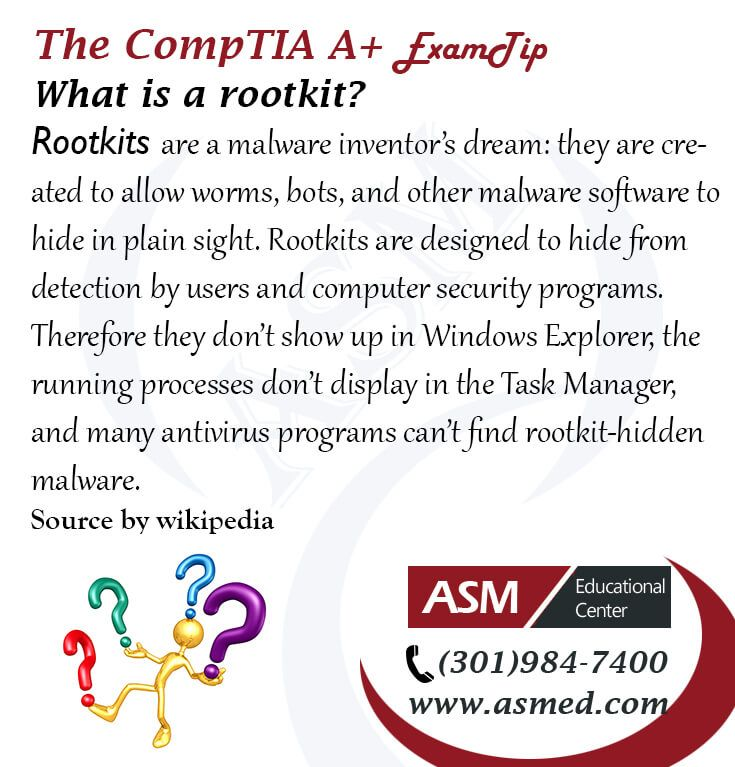 Comptia Troubleshooting Steps: CompTIA A+ Training / Exam Tip