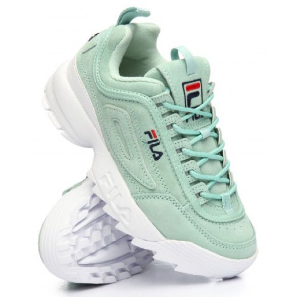 Fila Shoes | Fila Disruptor Ii Mint | Color: BlueGreen