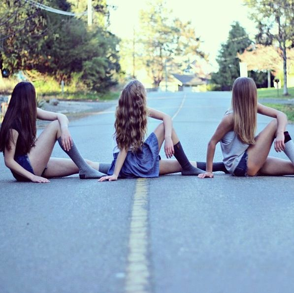 Resultado de imagen de fotos tumblr para tres amigas