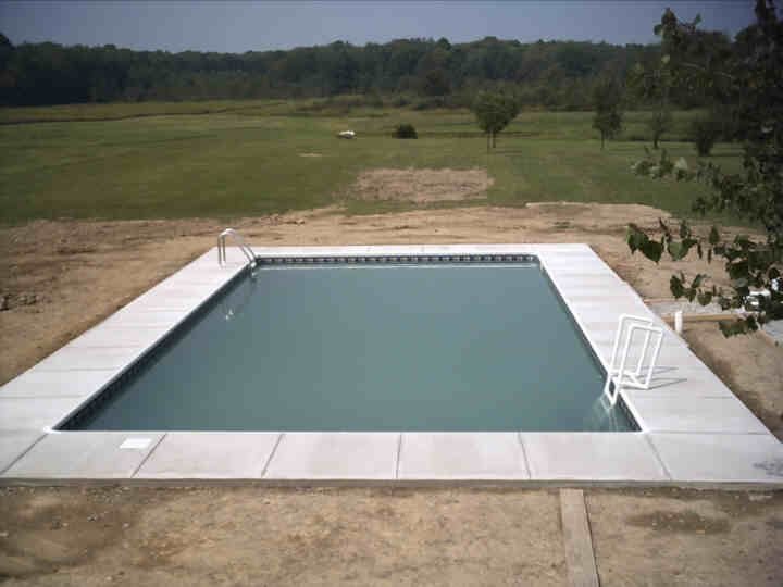25 best images about diy inground pool on pinterest for Inground swimming pool kits