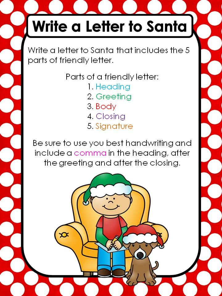 Best  Write To Santa Ideas On   Santa Letter
