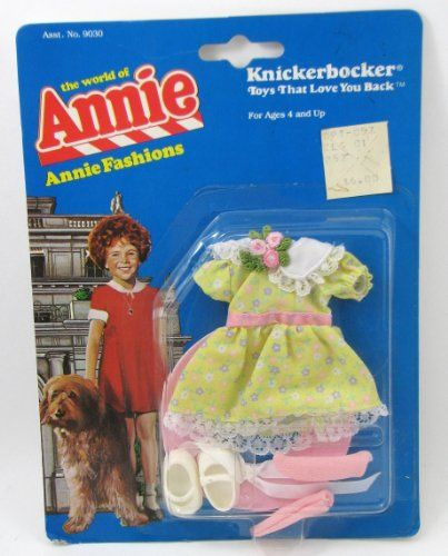 Annie the World of Annie Knickerbocker Party Dress Outfit...