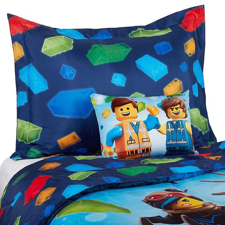 Lego Movie 2 Twin / Full Tröster Set In Blau Blau Multi   – Products