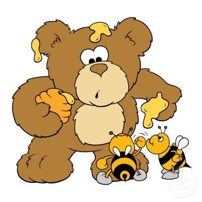 El oso y las abejas http://www.encuentos.com/fabulas/el-oso-y-las-abejas/