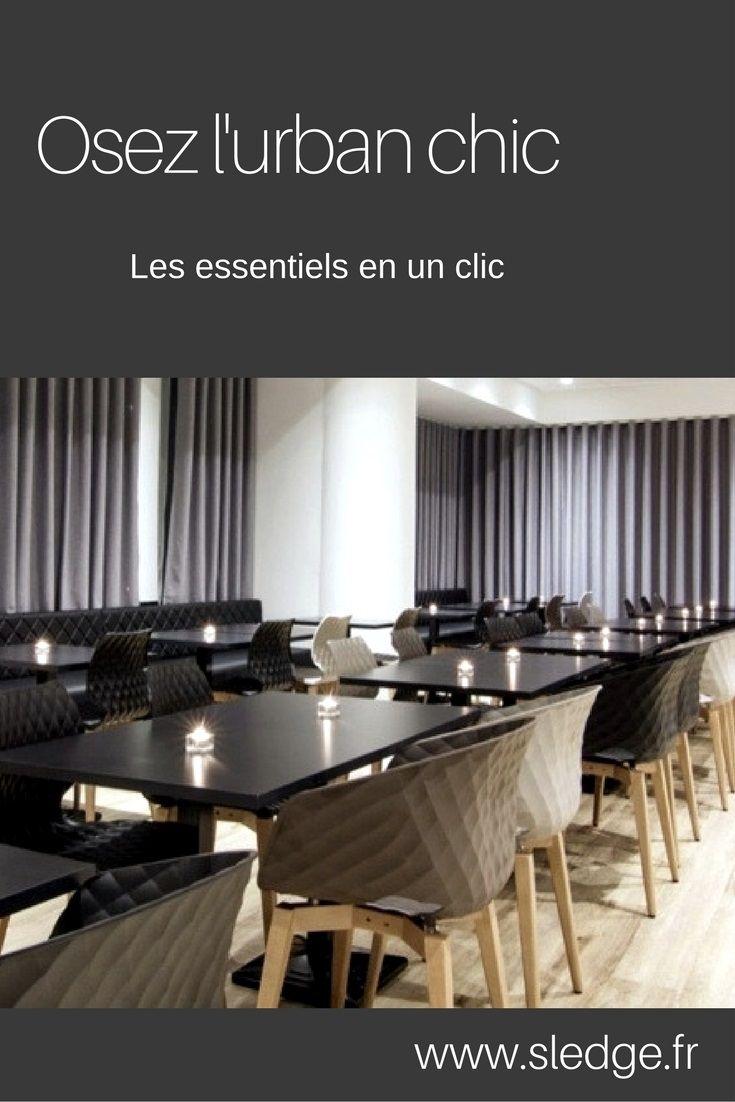 Mobilier de restaurant design contract  www.sledge.fr
