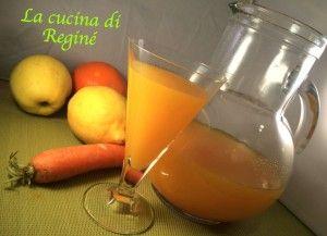 Succo ACE con il bimby | La cucina di Reginé ☼