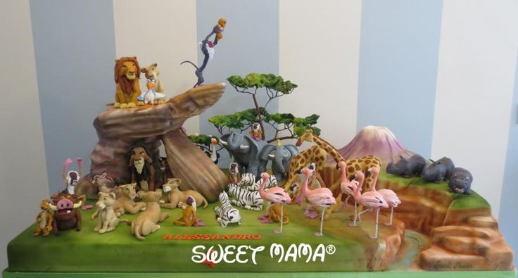 The Lion King cake Gizy, Sweet Mama, http://www.sweetmama.it, https://www.facebook.com/pages/SWEET-MAMA-Torte-artisticheCake-design/281982781838430?ref=hl