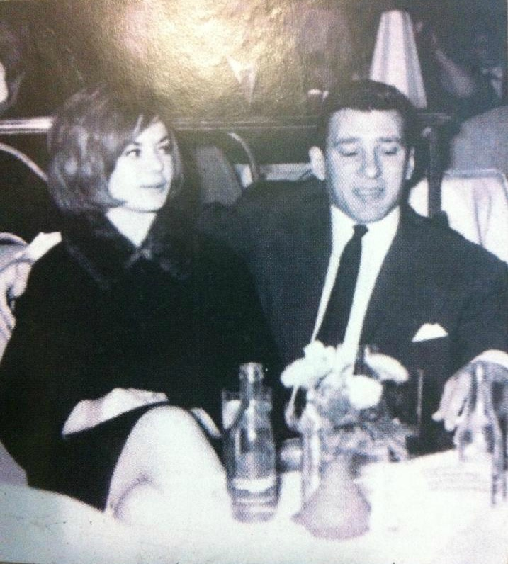 Frances Shea and Reggie Kray
