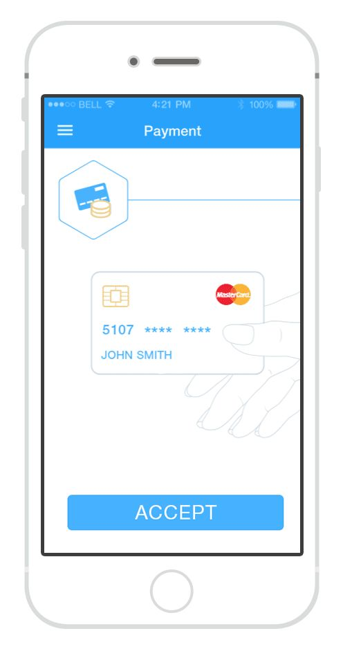 Mobile payment app with secure card-less payments:— carry all your cards with…