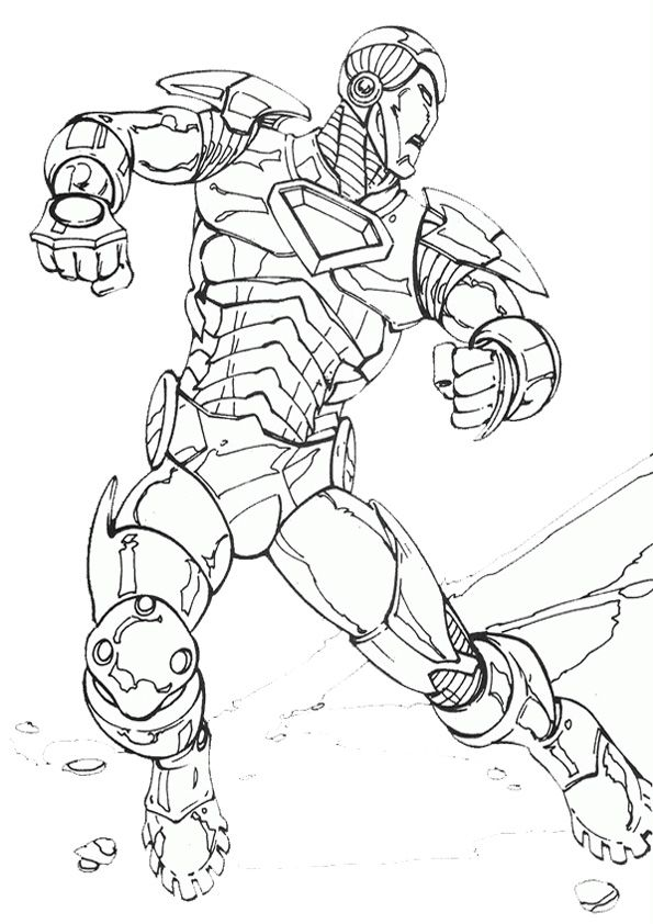 Iron Man Coloring Sheet Coloring Pages Printable Coloring Pages Coloring Pages For Kids