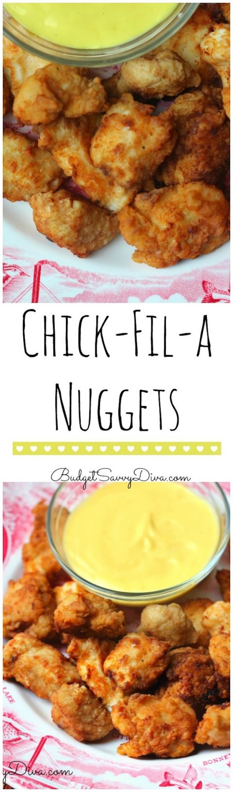 Copy Cat Chick Fil A Nuggets from Budget Savvy Diva