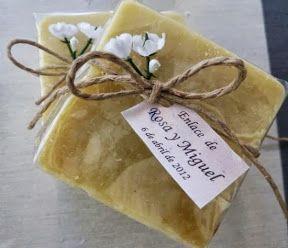 jabones de miel naturales personalizados