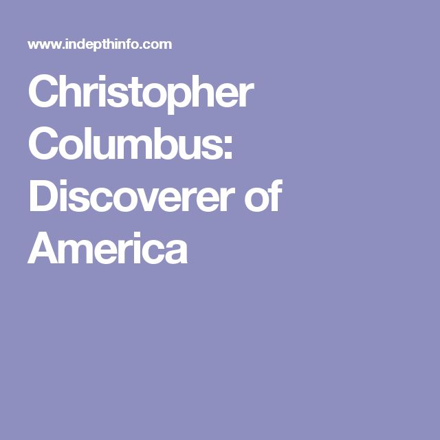 a study on christopher columbus monetarily driven discoveries We can only understand the explorer christopher columbus, and the forces that motivated him, through an understanding of the 15th-century world in which of the printing press, which led to the great expansion of learning at the time of the european renaissance (roughly 1400 to 1550), the discoveries.