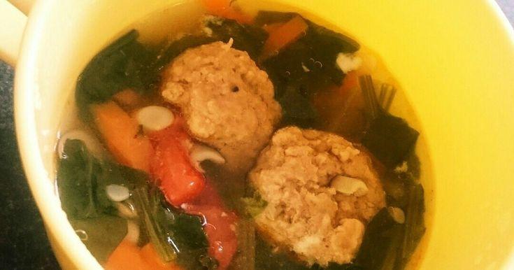 肉団子スープ~1才2ヶ月幼児食 by お悩みさん 【クックパッド】 簡単おいしいみんなのレシピが280万品
