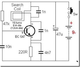 diy-gold-detector-schematic | Gold detector, Gold diy ...