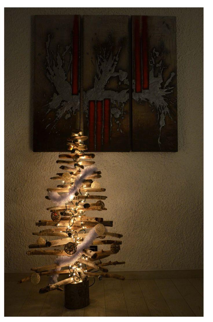 Árbol navideño económico. Albero di natale economico.