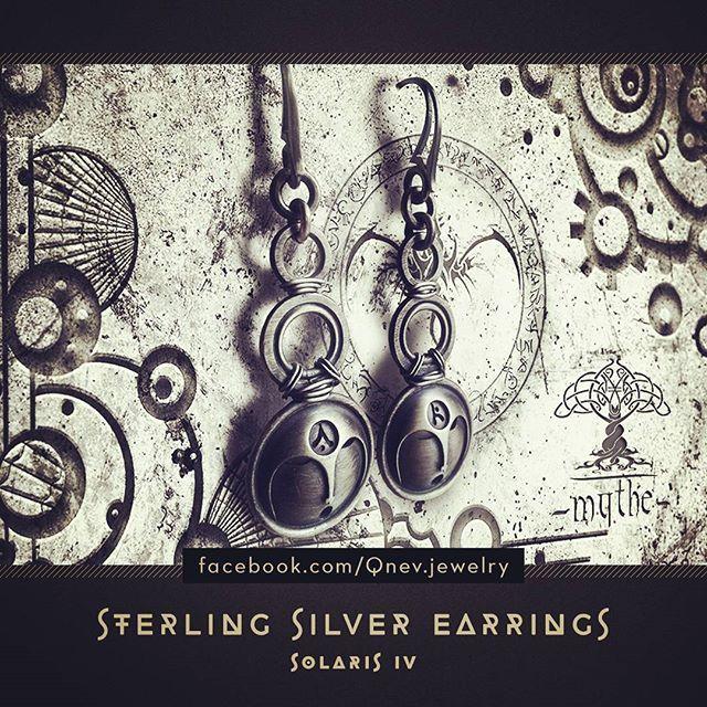 #earrings #sterlingsilver #jewelrydesign #jewelrydesigner #metalwork #artwork #artistic #artofinstagram #artstagram #tattoolife #420 #fantasyjewelry #fantasy #fantasyart #homemade#jewellery #jewelry #handmade #moon #sun #silverearrings #mask