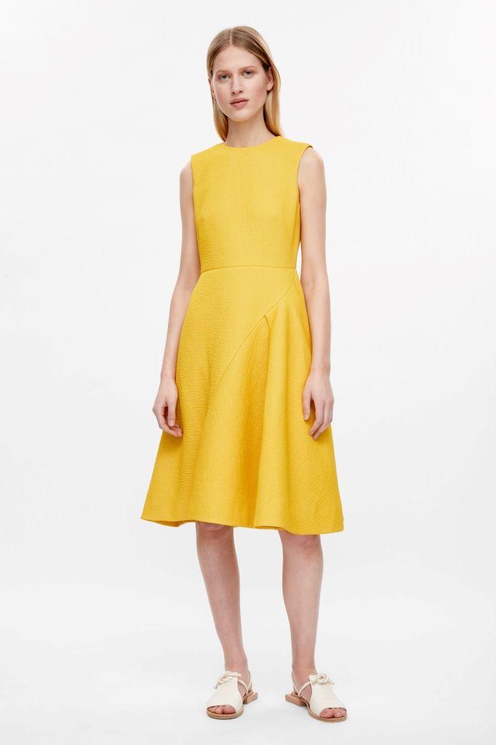 Cos Flared Sleeveless Dress Cos Insp Pinterest