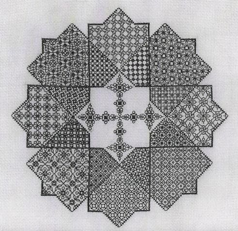 Star Challenge---25 pages of patterns at Elizabeth Almond's site and 9 pages of freebies!