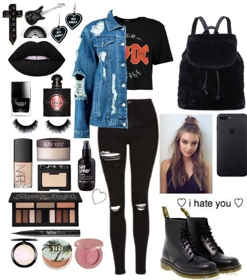alternative, Polyvore, and beauty image