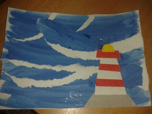 Majak na mori