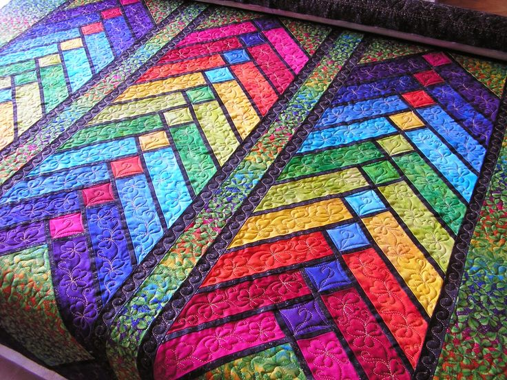 17 Best images about french braid quilts on Pinterest Queen size, Braid quilt and Stained glass
