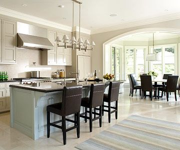 One-Wall Open Kitchen