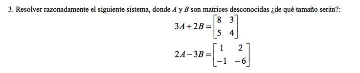 Ejercicio 3A. 2001-2002 Setiembre. Matemática, pau de Canarias, matemática 2, matrices y determinantes.