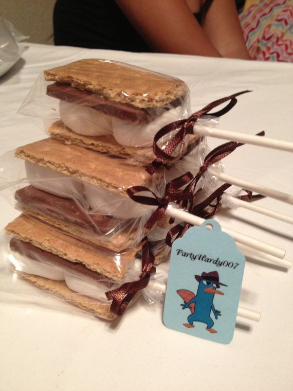 S'More Pops by PartyHardy007 on Etsy, $9.75