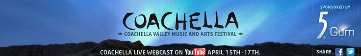 Coachella Festival taking place now in the lovely desert, Imperial Empire/ Coachella Valley California.