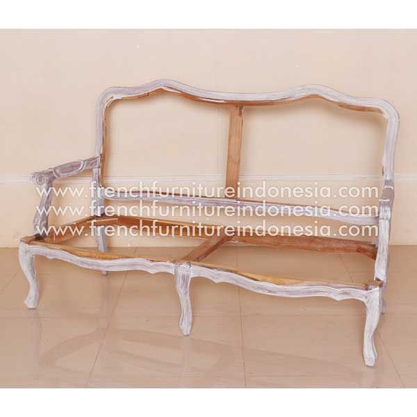 Buy Jocelin Sofa 3 Seater from Antique Reproduction Furniture. We are reproduction furniture 100% export Furniture manufacturer with french furniture style and good quality finish. This Sofa is made from mahogany wood with good quality and treatment process and the design has a strong construction, suitable to your living room. #WoodenFurniture #IndonesiaFurniture #WholesaleFurniture #JeparaFurniture #FurnitureManufacturer