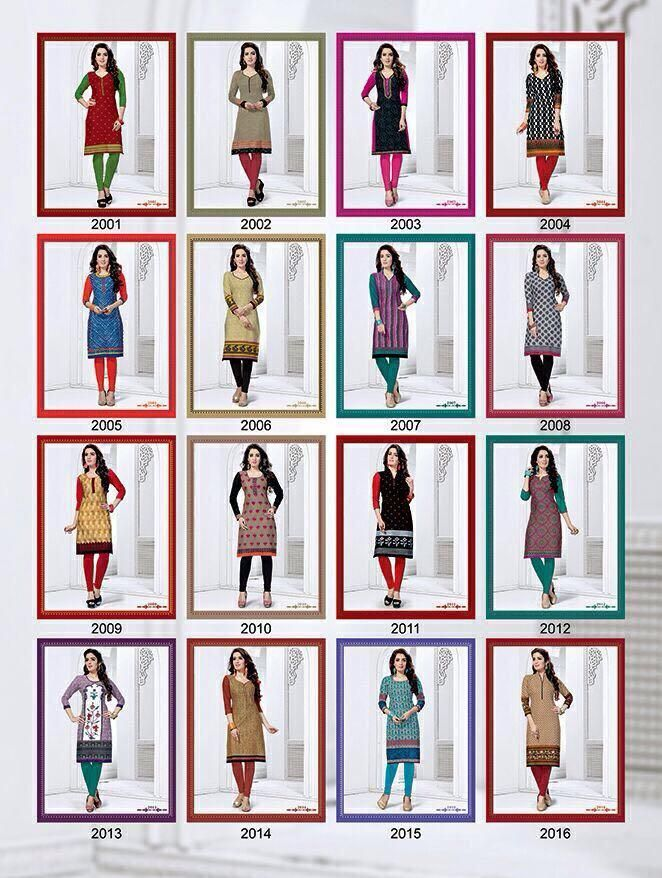 Buy BK Dolly Kurti Special Vol-2 Online at Best price in India