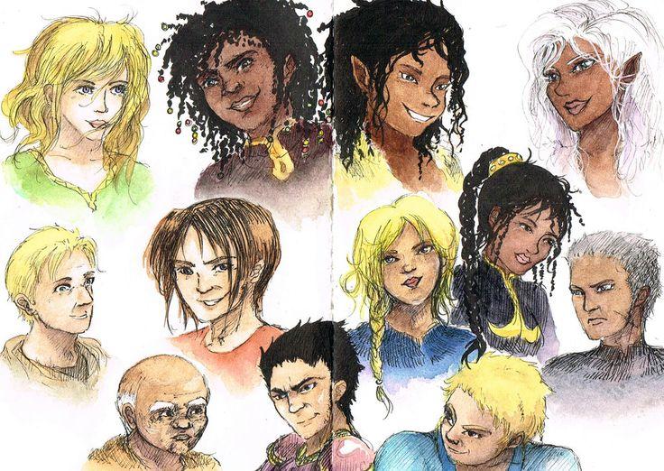Heros de Gwendalavir by LucioL-2zR on DeviantArt