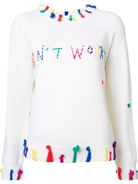 3 ways to wear a slogan knit - Notes From A Stylist