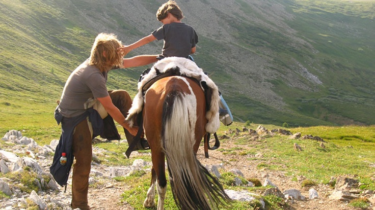 """""""Opowieść ojca. Przez mongolskie stepy w poszukiwaniu cudu"""""""