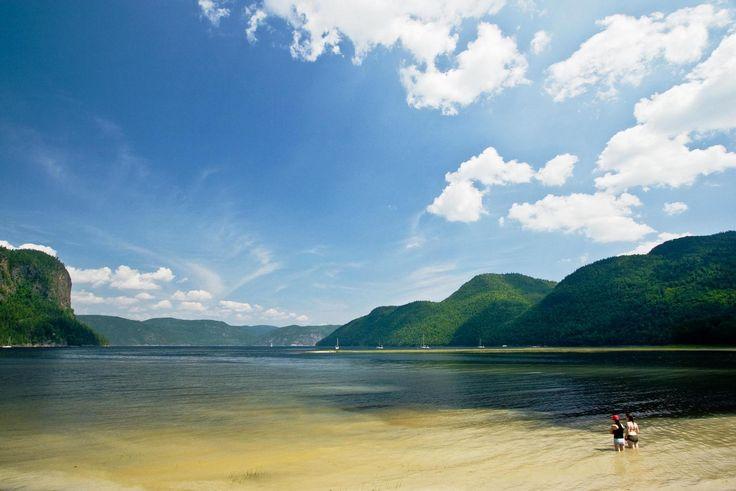 The Top 25 Campsites in Canada Parc National du Fjord-du-Saguenay, Quebec Baie Sainte-Marguerite Campground