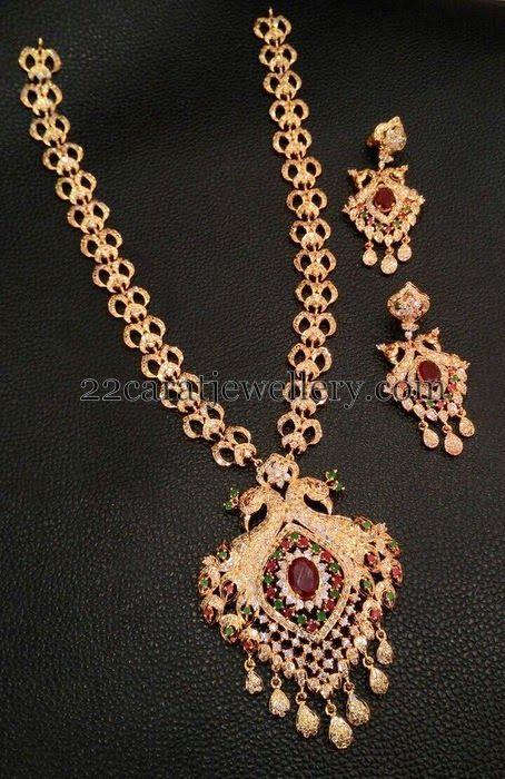 13 best jewellery images on pinterest indian wedding jewellery jewellery designs trendy 1 gram gold long sets aloadofball Gallery