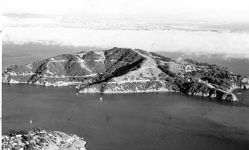 #TodayInCAHistory: On August 1, 1775, Juan Manuel de Ayala, captain of the ship the San Carlos, was the first European to sail the San Francisco Bay. The expedition named a variety of San Francisco Bay landmarks, including Alcatraz, which is Spanish for sea gull, Angel Island and San Pablo Bay. (Image: Angel Island, courtesy of CA State Parks.)