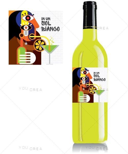 Illustrazione per Etichetta Vino
