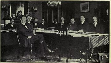 Constitution of the Irish Free State - Meeting at the Sherbourne Hotel, Dublin 1922